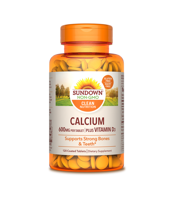 Sundown, Natural, Saludable, Calcio, vitamina d3