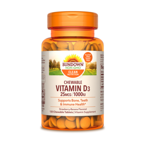 Sundown, Vitamina D3, Saludable, Inmunológico,