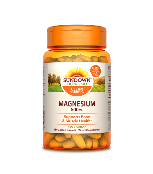 Magnesio, 500mg, Relajante muscular, músculos, fitness, vegano, vegetariano