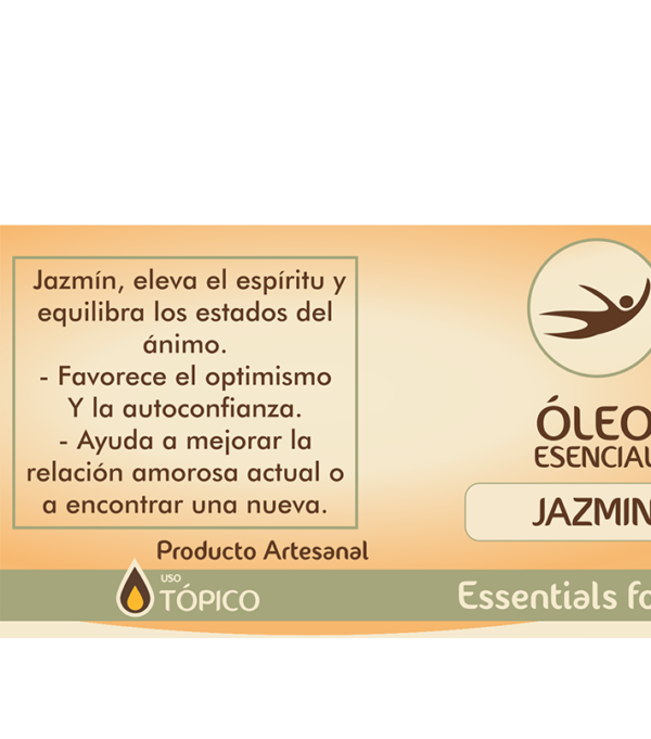 Natural Center, essentials for life, aceite aromático, aromaterapia, óleo, sueño y relajación, jazmín