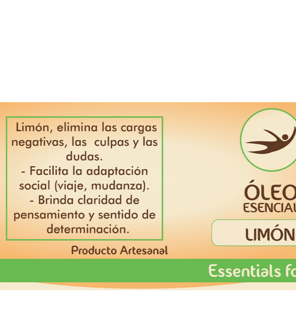 Natural Center, essentials for life, aceite aromático, aromaterapia, óleo, sueño y relajación, limón