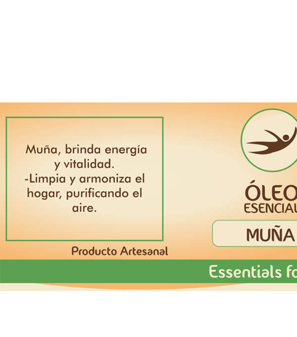 Natural Center, essentials for life, aceite aromático, aromaterapia, óleo, sueño y relajación, muña